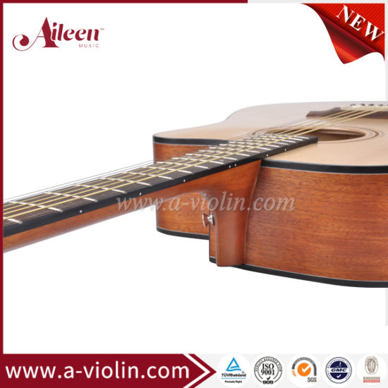Factory Wholesale Carbon Fiber Neck Reinforcement Acoustic Guitar (AF485CE) pictures & photos