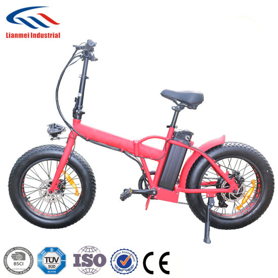 New Model Lithium Battery Electric Fat Bike pictures & photos
