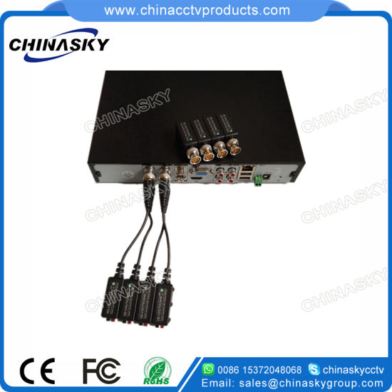 1 Channel Passive CCTV UTP Cat5 BNC Video Transceiver for HD-Cvi/Tvi/Ahd Cameras (VB109pH) pictures & photos