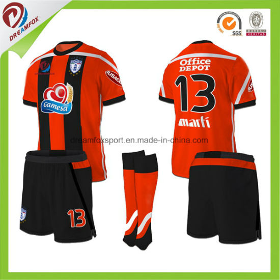 930097257 Cheap Sublimation Wholesale Thai Quality Customized Football Shirt Maker  Soccer Jersey