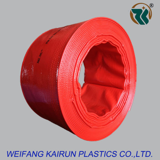 4 Inch High Quality Plastic 8bar PVC Layflat Hose