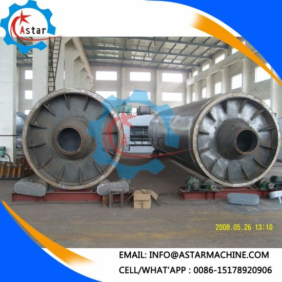 Single Layer Sawdust Rotary Drum Dryer Machine for Sale pictures & photos