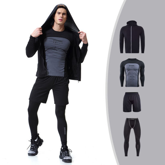 994bb417137fb 2019 Fitness Comfortable Gym Winter Sportswear for Men Compression Jacket