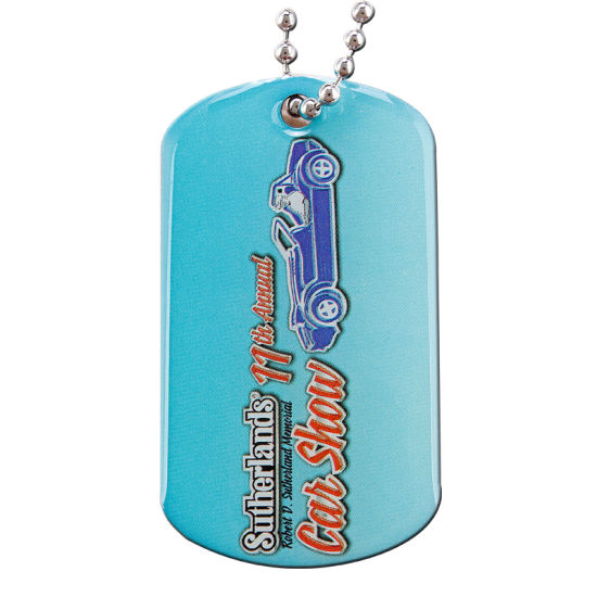 Custom Cheap Metal Stamped Dog Tag (DT-036) pictures & photos