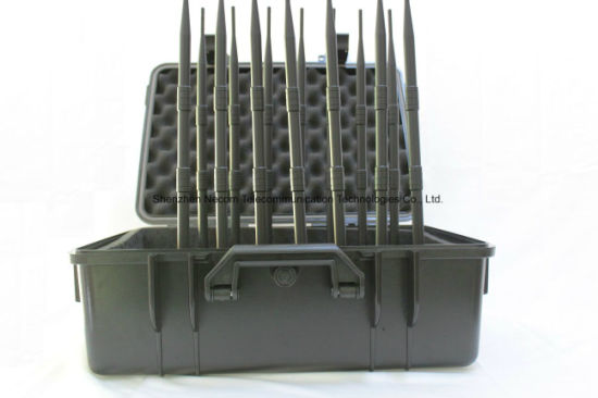 General Suppressor of Wireless Communication;GSM CDMA 3G/4G Cellphone WiFi, Lojack, GPS Signal Blocker/Jammer,Signal Mobile Jammer GSM/UMTS/3 G/GPS/WiFi/Lojack pictures & photos