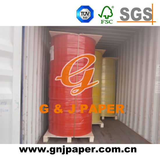 Hot Sale 55GSM NCR Paper in Jumbo Roll pictures & photos