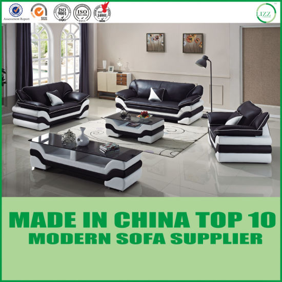 China Modern Home Sofa Miami Leather Living Room Furniture ...