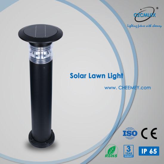 Casting Aluminum LED Solar Lawn Light for Garden