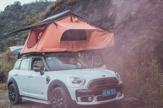Folding Roof Top Tent 2-3 People Car Tent & China Folding Roof Top Tent 2-3 People Car Tent - China 4WD Car ...