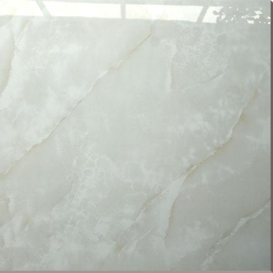 China Super Glossy White Marble Tiles 60x60 Porcelain Floor Tile
