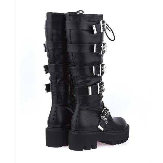 China Winter Women Boots Belts Buckles