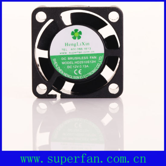 High Quality 5V DC Mini Fan for Computer 25mm Cooling Fan pictures & photos