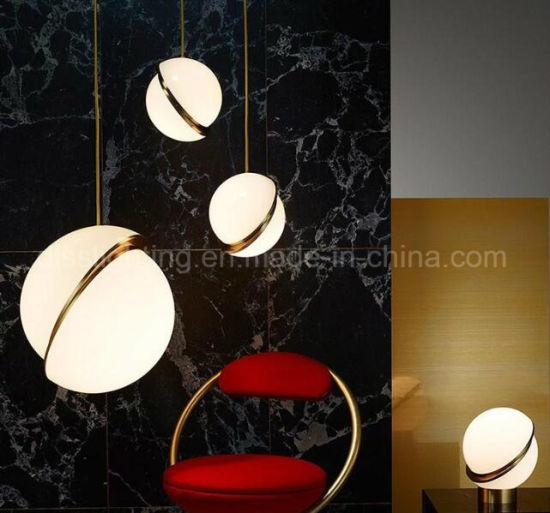 China Modern Aryclic Ball Table Lighting Drawing Room