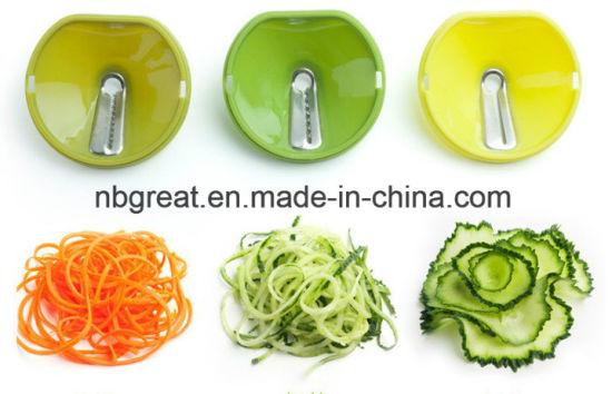 China Spiral Slicer Spiralizer Cutter Kitchen Tool - China ...