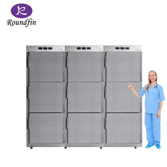 Medical Equipment 9/20 Bodies Mortuary Refrigerator Freezer Corpse Cabinet