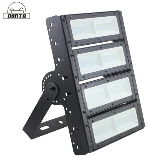 Best Price Modular LED Flood Lights 150 Lm/W 100~1000 W IP66 High Mast Light Flood Lamp for Docks, Ships, Ports, Tennis