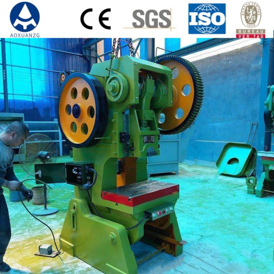 25ton Small Straight Side Single Mechanical Power Press for Machine Part Metal Stamping