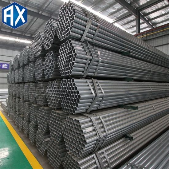 Galvanized Steel Pipe Tube/ERW Pipe/Hollow Section/Gi Hollow Section/PPGI/Gi/Cold Rolled/Hot Rolled/Roofing Steel Coil/Sheet Chinese Supplier