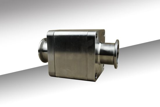 Forged CNC Machining Stainlesss Steel Hygienic Ball Valve Part Sanitary Valve Part