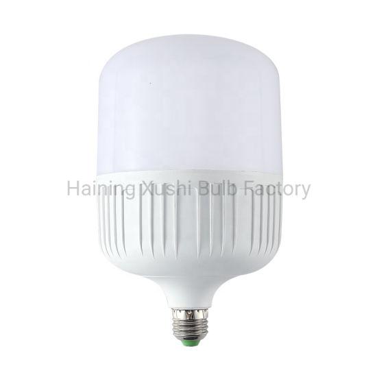 Mexico High Power Light 5W 10W 15W 20W 30W 40W 50W T Shape Plastic LED Bulb