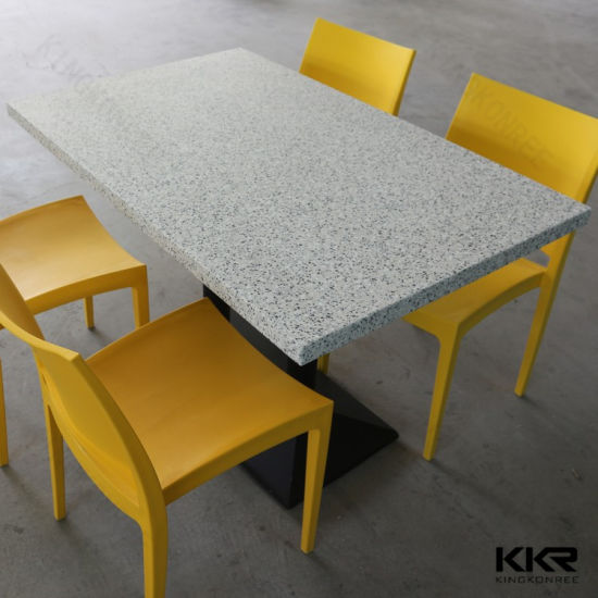 Kkr Custom Made Artificail Stone Resin Dining Table In Malaysia