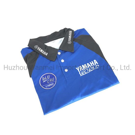 Top Quality 100% Polyester OEM Men T-Shirt Sublimated Polo Shirt