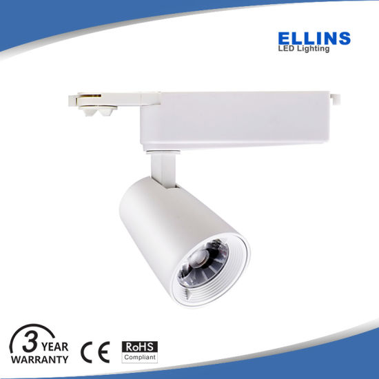 High Lumen 12W 15W CREE COB LED Track Light 3 Wire pictures & photos