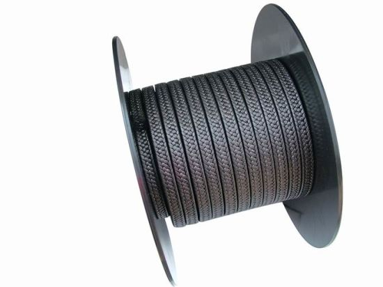PTFE Teflon Packing with Graphite