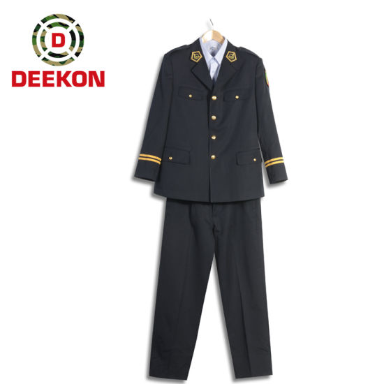 100% Wool Double Breasted Ceremonial Uniform for Officer