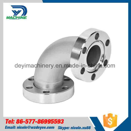 Sanitary 90 Degree Elbow Flange Ends