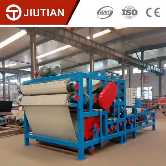 Sewage Sludge Treatment Plant Belt Dewatering Equipment pictures & photos