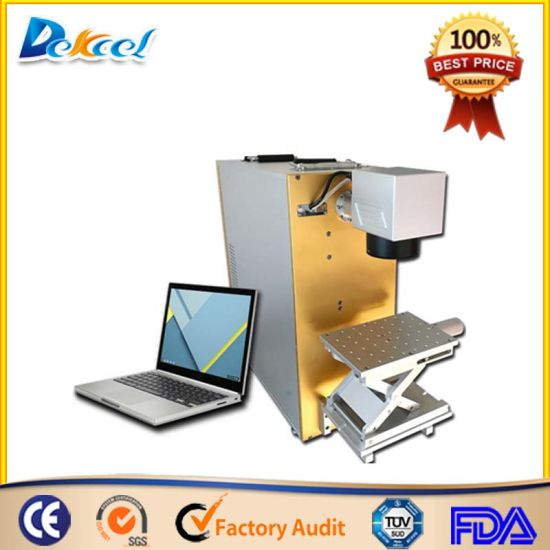10W 20W 30W 50W Fiber Laser Marking Machine Marker for Rings, Bracelets, Glass, Electronic Components pictures & photos