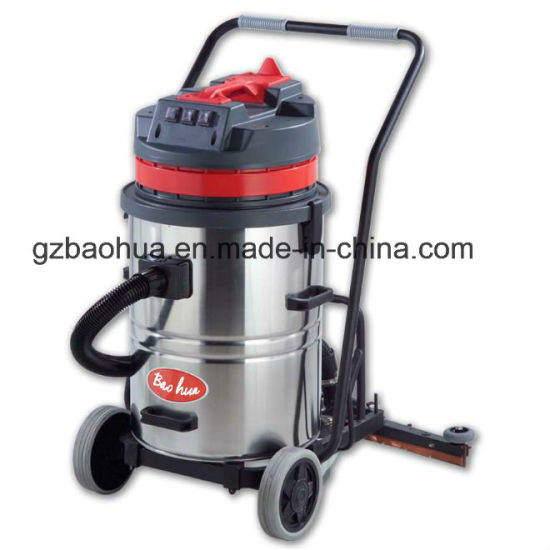 60L Wet and Dry Vacuum Cleaner with Scrape (3 motor)