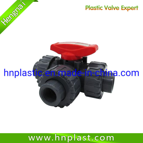 PVC Tee Type Ball Valve