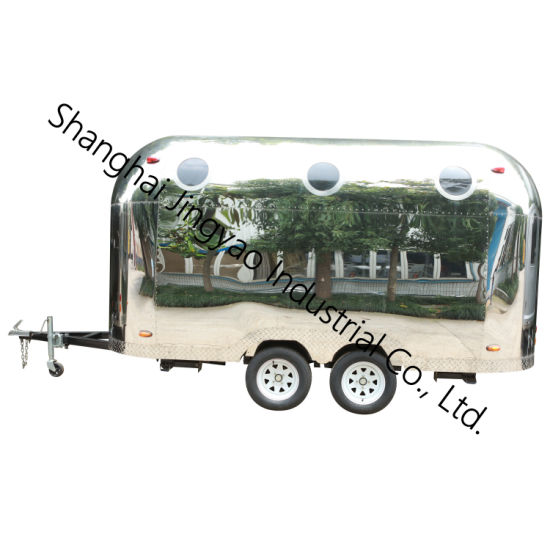 High Quality Mobile Hot Dog Carts/Towable Food Trailer/Fast Food Truck/Food Vending Carts for Sale