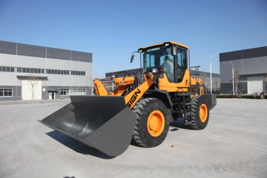 Chinese Wheel Loader Ensign Brand Model Yx636 with Weichai Engine, Joystick, A/C and 1.8 M3 Bucket pictures & photos