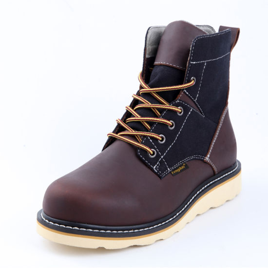 Hikers Boots Safety Shoes Steel Toe Middle Cut
