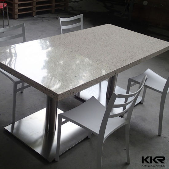 Square Dining Table Beige1200mm Corian Top