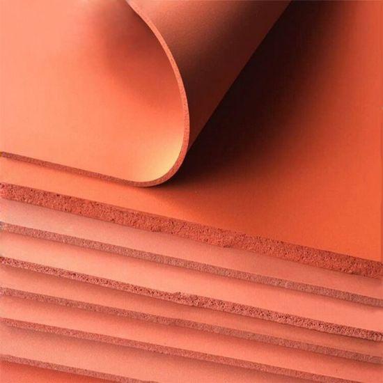 Premium Heat Insulation Silicone Sponge Rubber Sheet Plate Pad