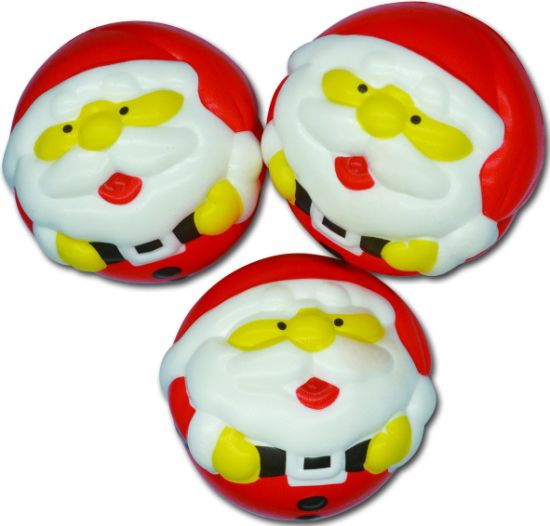 PU Material Slow Rising Squishy Santa Claus for Promotion Toys pictures & photos
