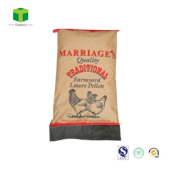 Bulk Horse Feed Corn Pellets Wheat Pellets Recycled Paper Bags Sacks