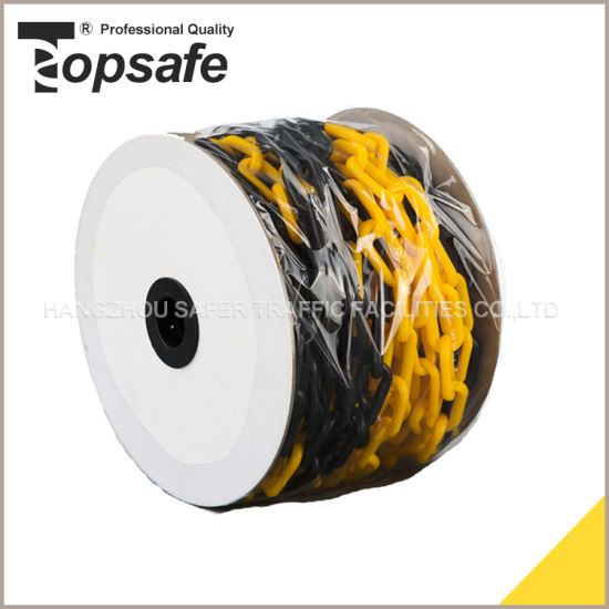 Yellow Black Color Safety Warning Chain pictures & photos