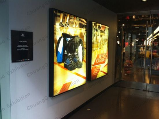 Exhibition Display Solutions : China fabric light box display solutions for retail display and