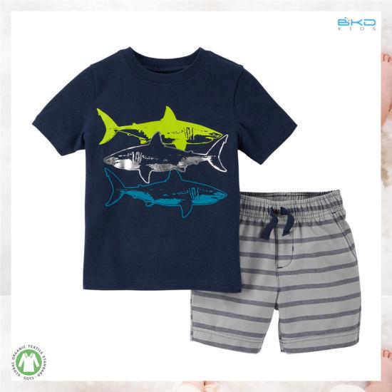 High Quality Kids Clothes OEM Child Boy Clothes Set