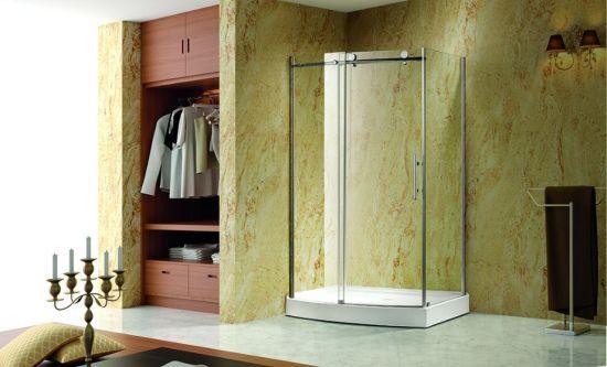 Bathroom Sanitary Ware Sliding Shower Door/Glass Screen Door (K03)