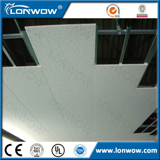 Acoustic Suspended Mineral Fiber Ceiling Tiles in China pictures & photos