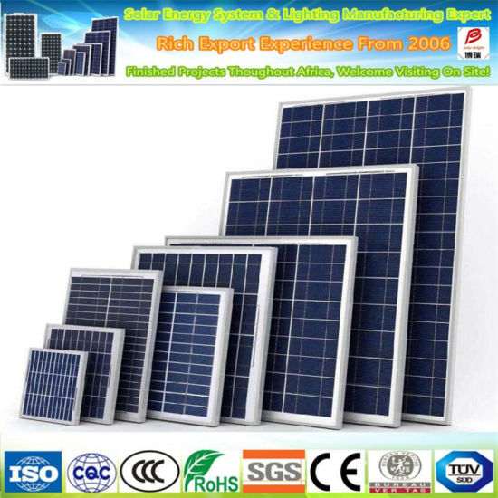 Solar Panels Poly 300W 305W 310W 315W 320W 330W 340W Solor Panel with Ce TUV