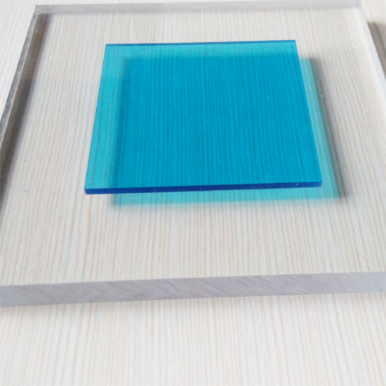 Polycarbonate Solid Frosted Sheet for House Wall Decoration Material pictures & photos