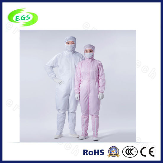 High Quality ESD Work Garment with Cap (EGS-PP09)