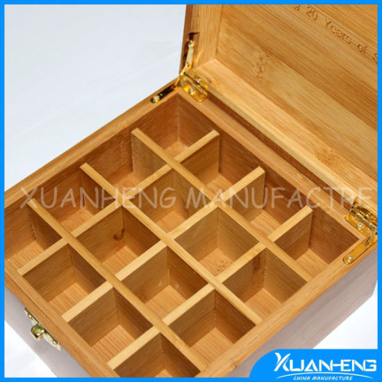 Hot Sell Bamboo Products for Storing Essential Oil Bottole pictures & photos